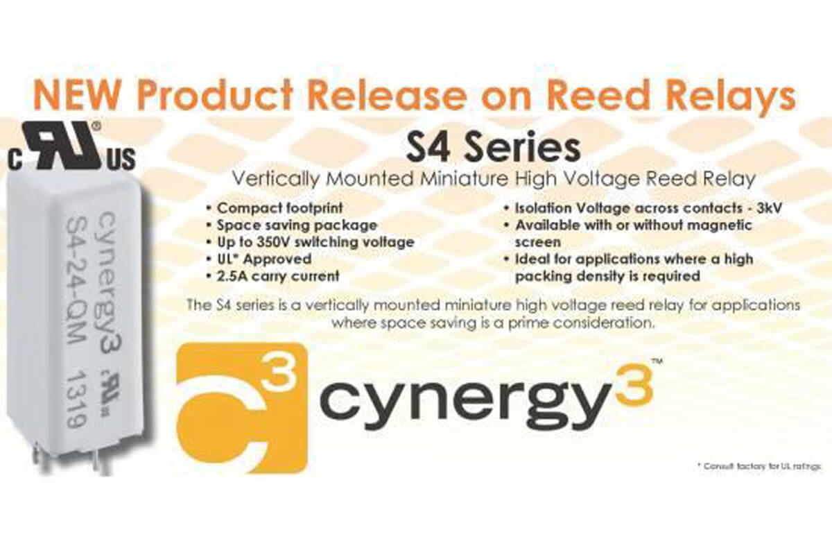 NEW Product Release on Reed Relay S4 Series