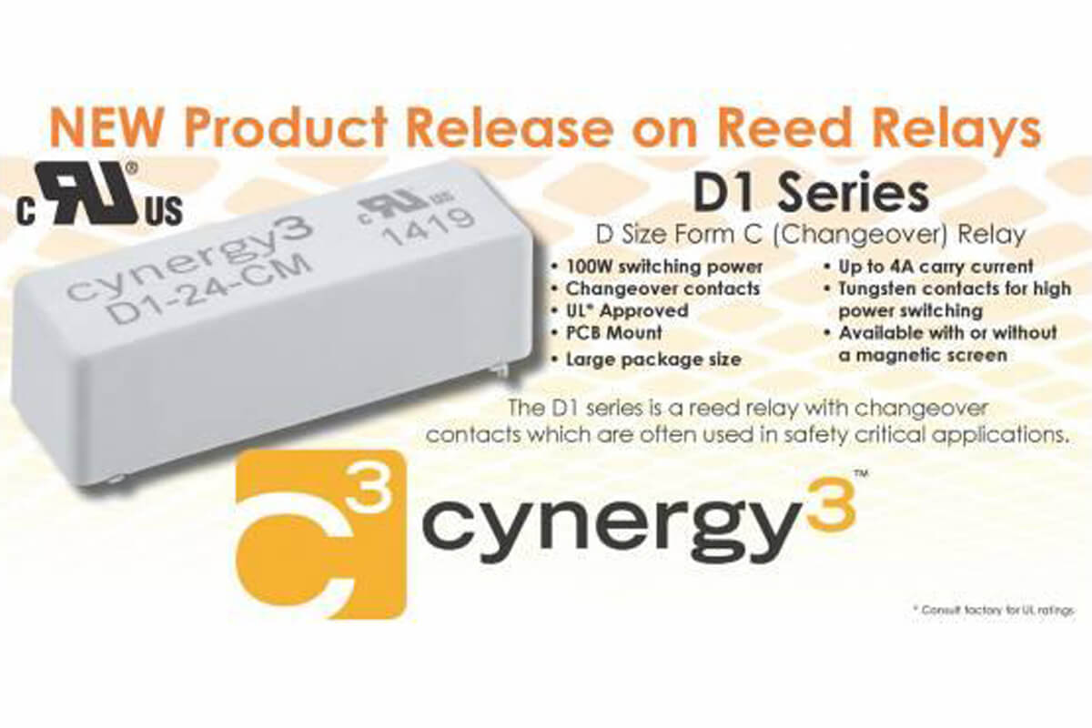NEW Product Release on Reed Relay D1 Series