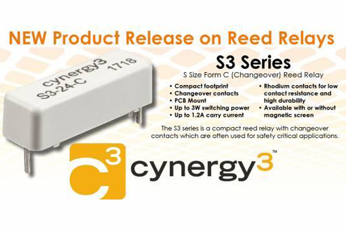 NEW Product Release on Reed Relay S3 Series